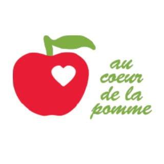 Logo Au coeur de la pomme / Vinaigrerie Gingras Frelighsburg Ulocal produit local achat local produits du terroir