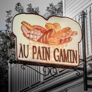 Logo Boulangerie Artisanale Au Pain Gamin Rivière-du-Loup Québec Ulocal produit local chat local produits du terroir