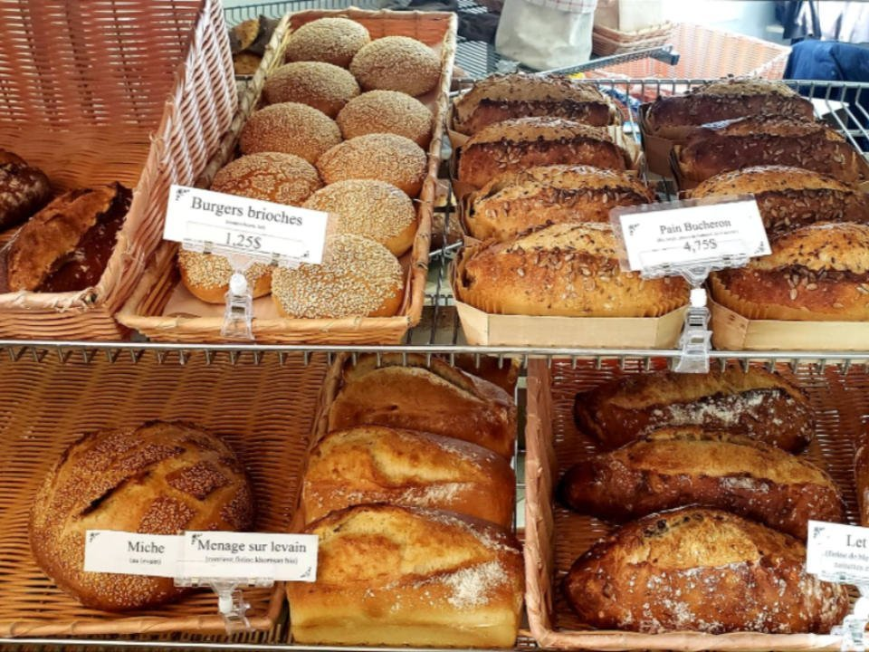 Boulangerie artisanale Boulangerie Des Pains et des Roses Trois-Rivières Québec Ulocal produit local achat local