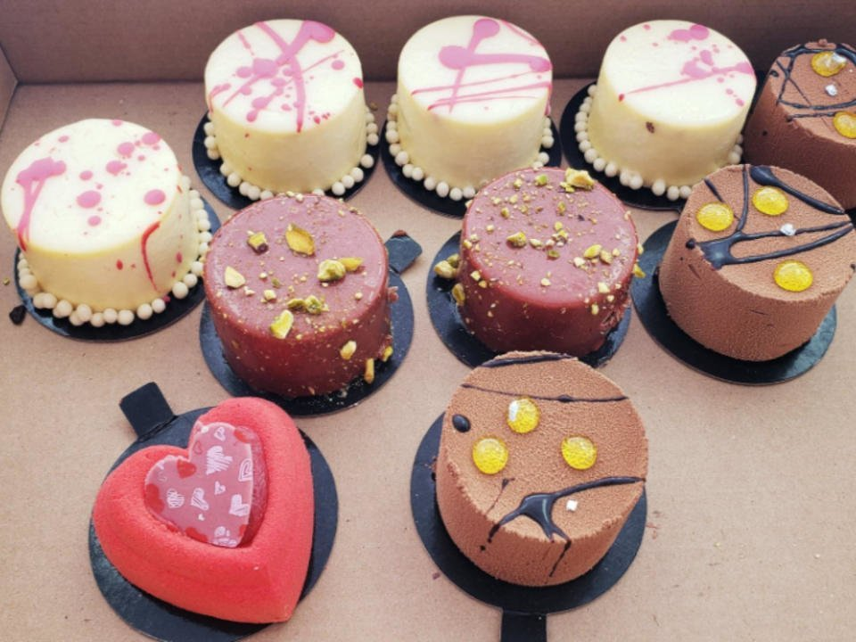Pâtisserie petits gâteaux Boulangerie Des Pains et des Roses Trois-Rivières Québec Ulocal produit local achat local