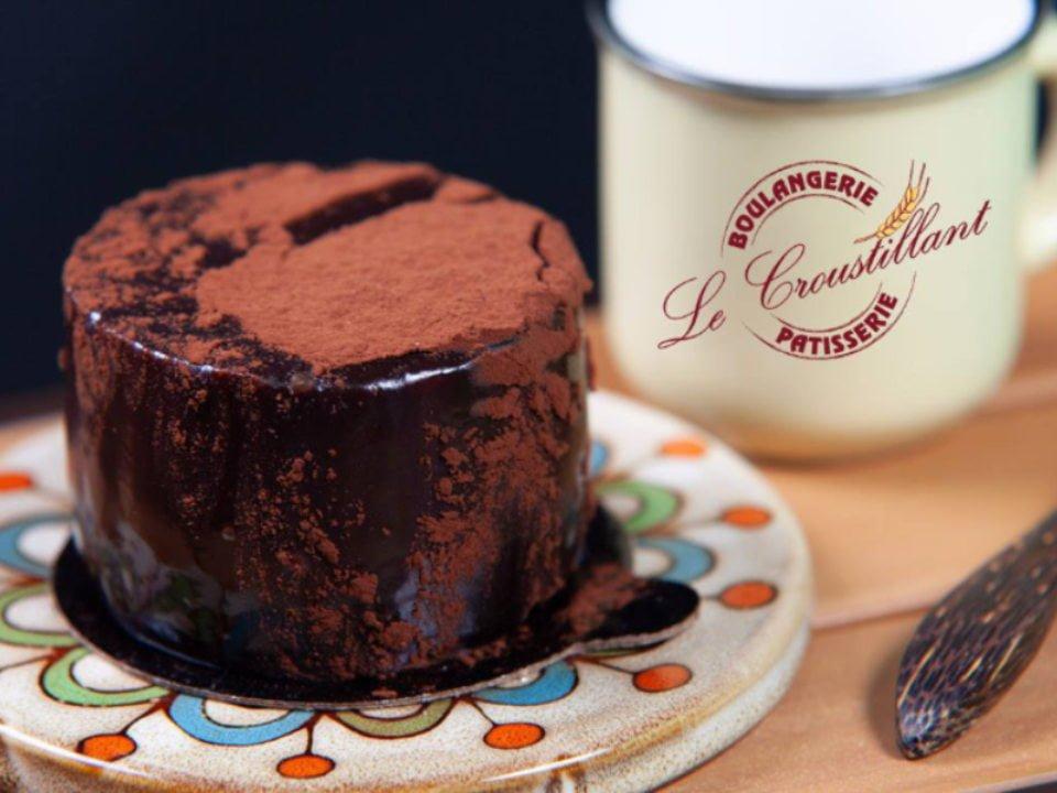 Dessert aux chocolats Boulangerie pâtisserie le croustillant Chemin Ste-Foy Québec ulocal produit local achat local