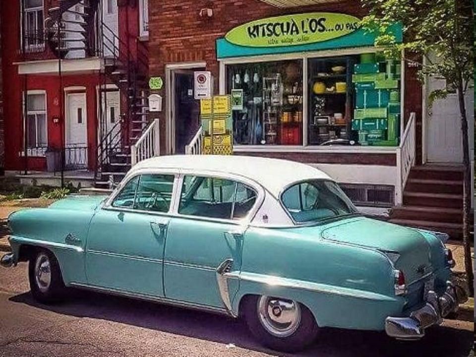 Rétro vintage antique KitschÀ l'Os... ou pas Montreal Québec ulocal produit local achat local