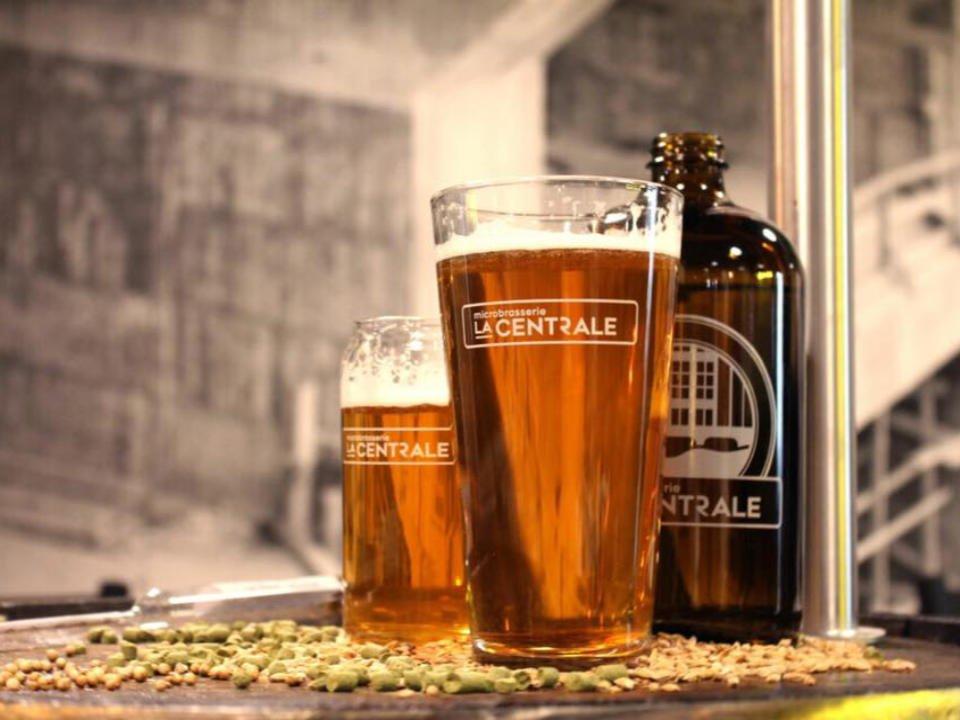 Bière artisanale Microbrasserie La Centrale Beauharnois Québec Ulocal produit local achat local produits du terroir