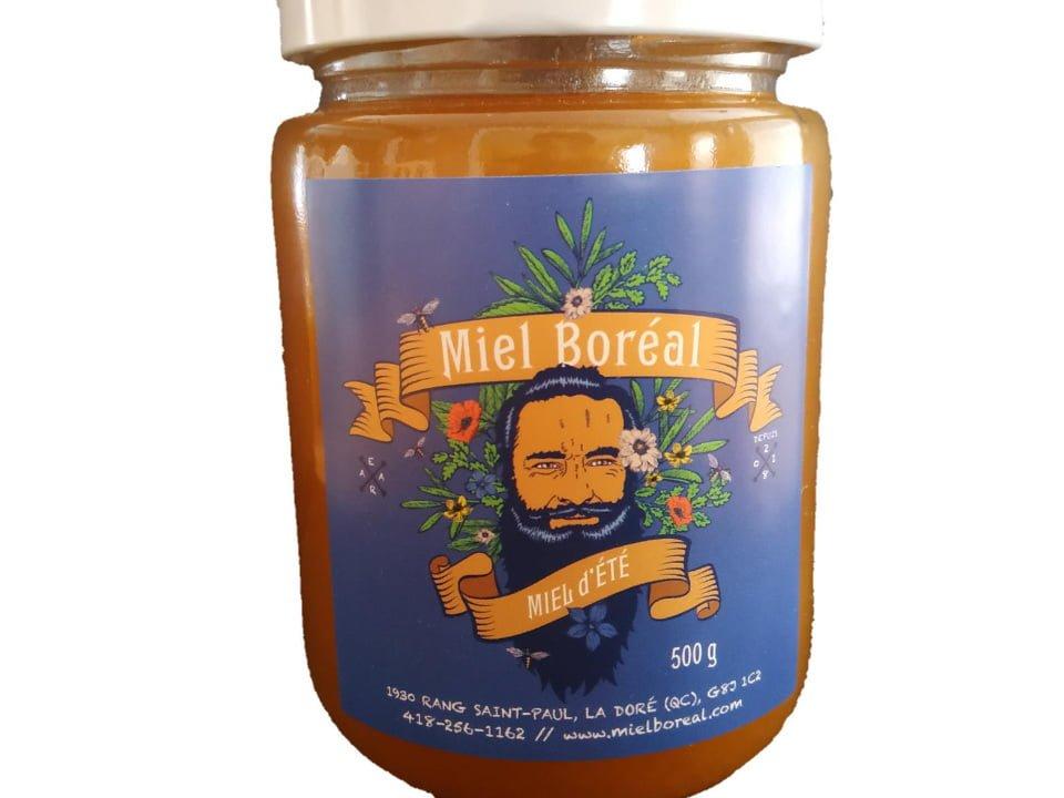 miel apiculteur Miel Boréal S.E.N.C. La Doré Québec Ulocal produit local achat local produits du terroir
