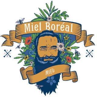 Logo Miel Boréal S.E.N.C. La Doré Québec Ulocal produit local achat local produits du terroir