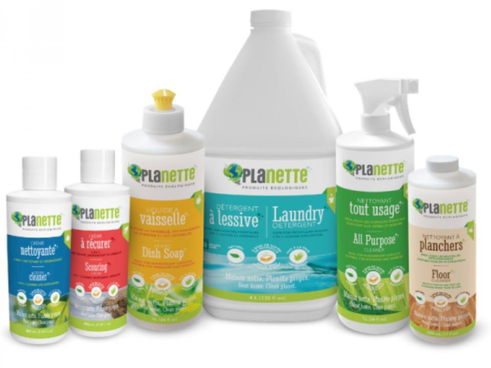 produits ménagers écologiques Planette produits écologiques Laval Ulocal produit local achat local