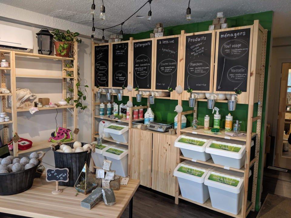 Boutique produits ménagers écologiques Planette produits écologiques Laval Ulocal produit local achat local