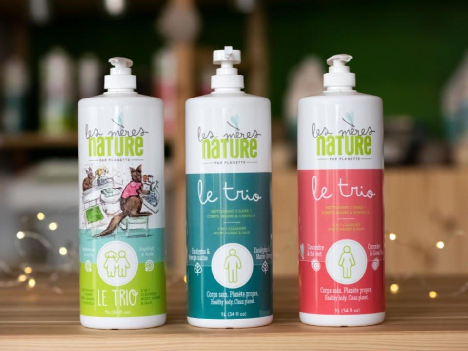 Les mères natures produits ménagers écologiques Planette produits écologiques Laval Ulocal produit local achat local