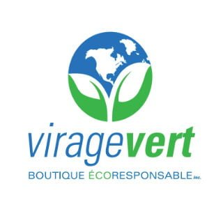 Logo Ecological household products body products Virage Vert eco-responsible boutique inc. Saint-Jean-sur-Richelieu Quebec ulocal local product local purchase