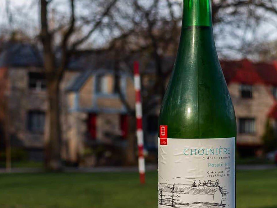 cidre alcool alimentation Cidre Choinière Frelighsburg Québec Ulocal produit local achat local