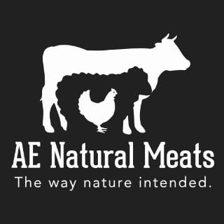 Logo AE Natural Meats McCowan Road Mount Albert ON Canada Ulocal produit local achat local